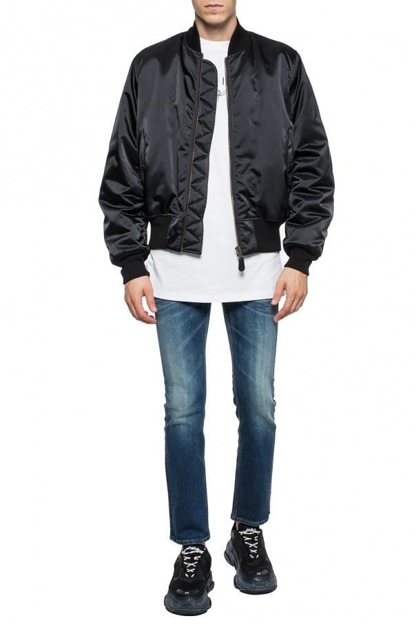 Stonewashed jeans od Balenciaga