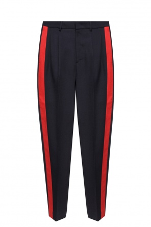 Trousers with a crease and stripes od Stella McCartney