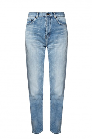 Raw edge jeans od Saint Laurent