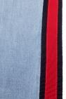 Gucci Kids 'Web' stripe jeans