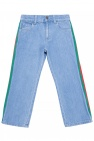 Gucci Kids Jeans with stripes