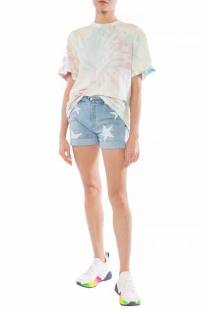 Star motif denim shorts od Stella McCartney