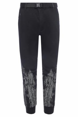 Cropped trousers od Diesel
