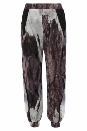 Patterned sweatpants od Diesel