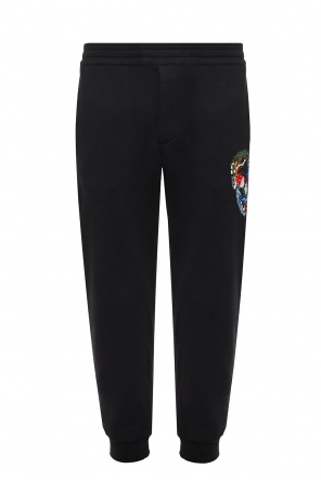 Embroidered sweatpants od Alexander McQueen