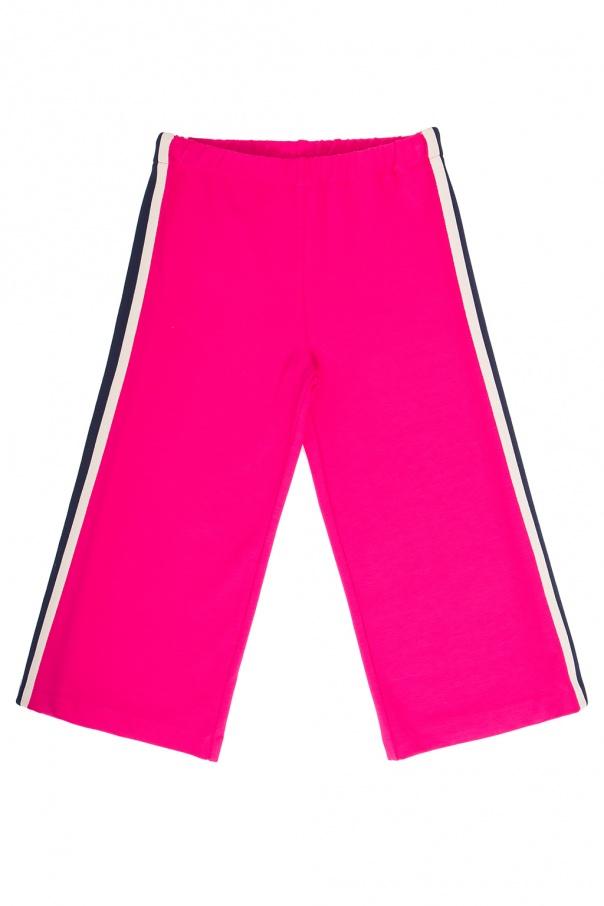 Gucci Kids Side stripe sweatpants