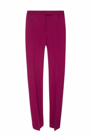 Wool pleat-front trousers od Stella McCartney
