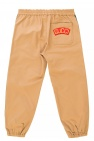 Gucci Kids Logo-patched trousers