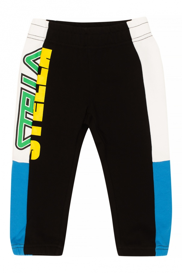 Stella McCartney Kids Sweatpants with logo