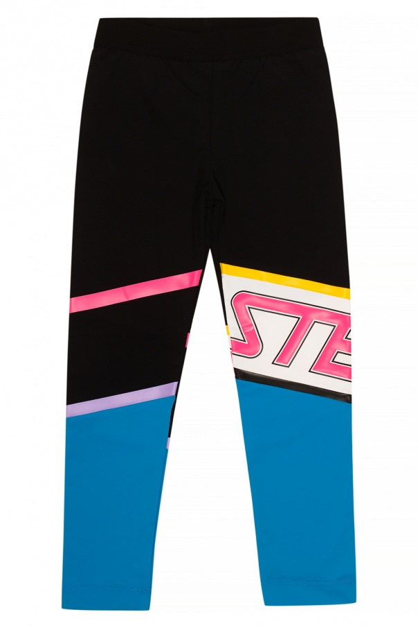 Stella McCartney Kids Leggings with logo