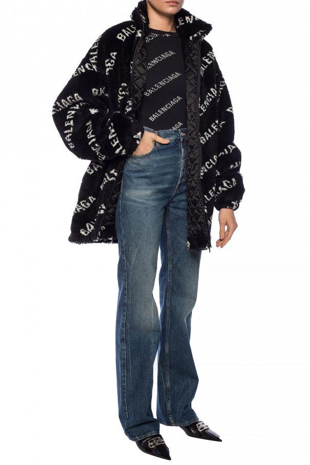 Logo jeans od Balenciaga