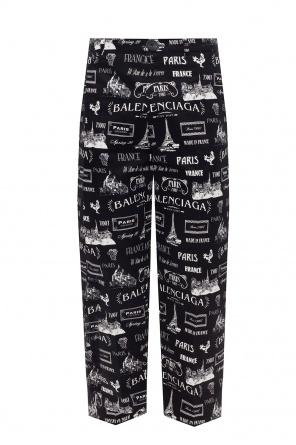 Printed trousers od Balenciaga