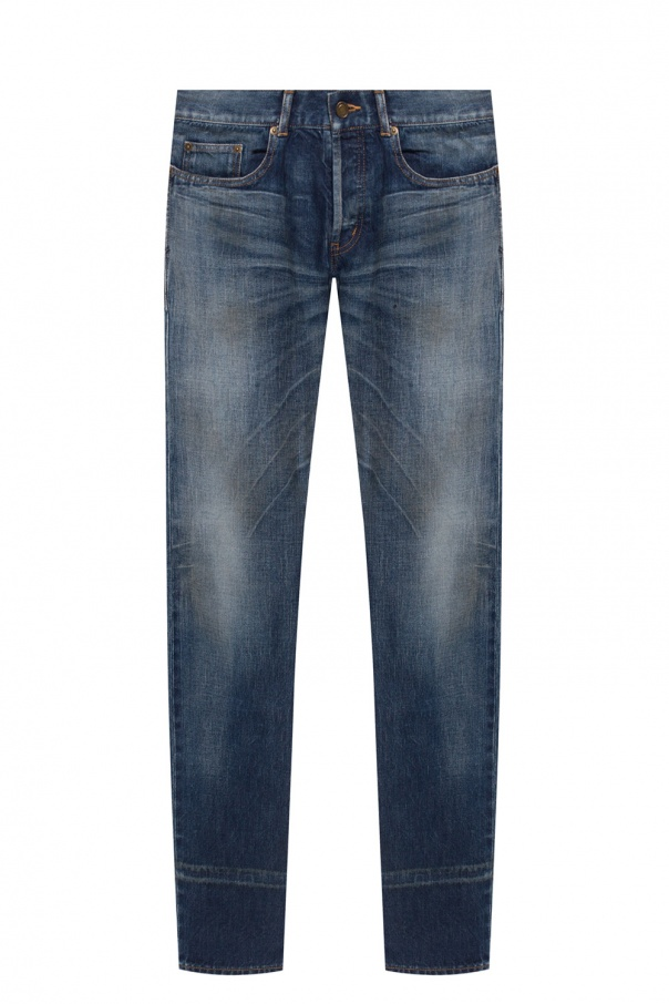 Saint Laurent Stonewashed jeans