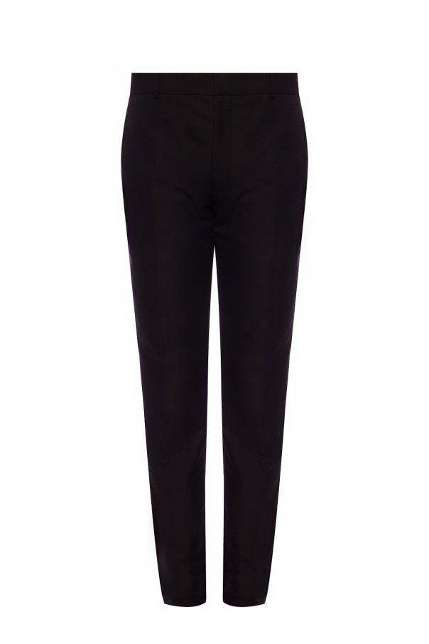 Alexander McQueen Creased trousers