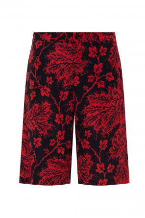 Patterned shorts od Alexander McQueen
