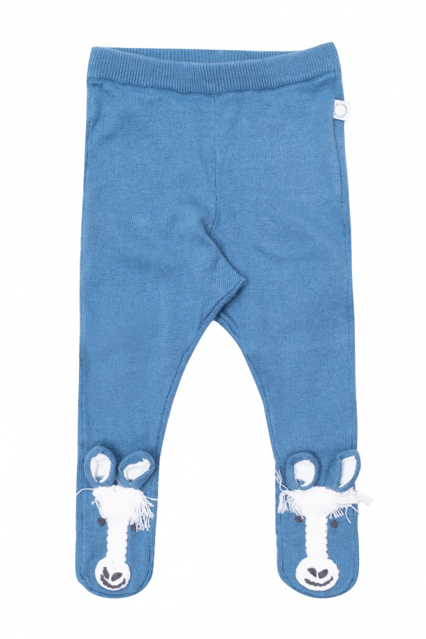 Stella McCartney Kids Slip-resistant tights