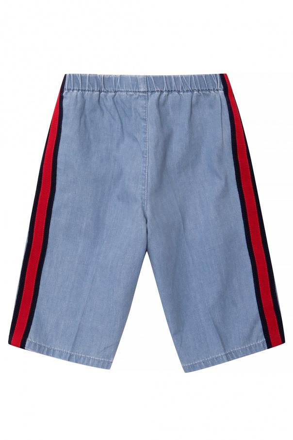 Gucci Kids Denim shorts