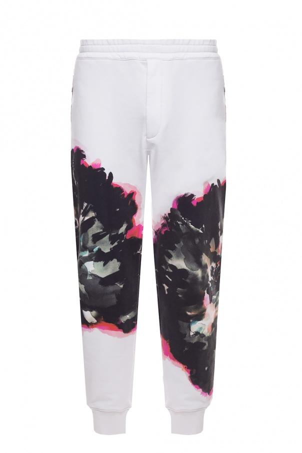 Alexander McQueen Printed sweatpants
