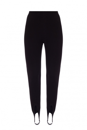 High-waisted trousers od Saint Laurent
