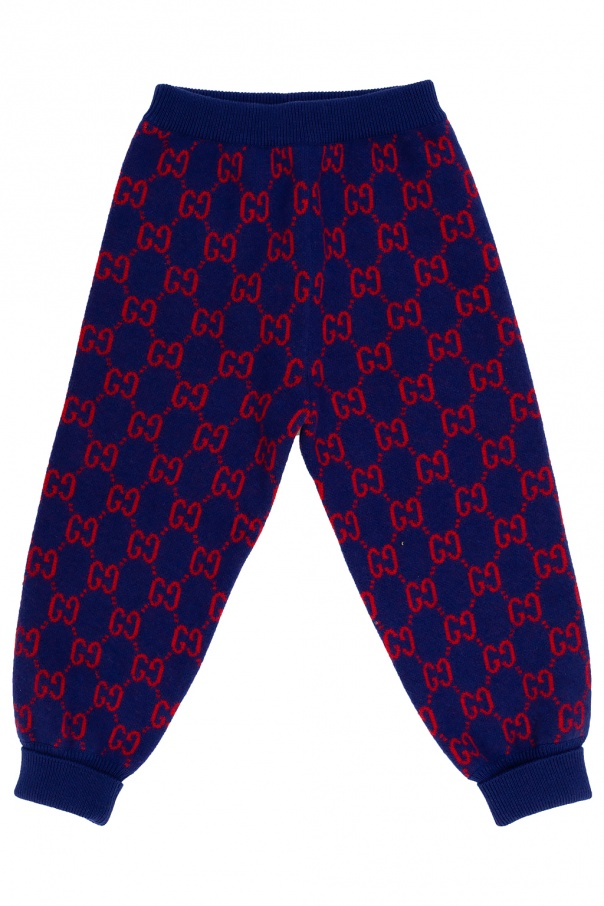 Gucci Kids Trousers with logo