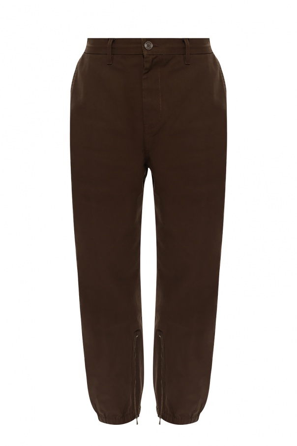 Gucci Trousers with logo