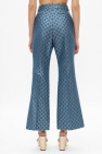 Gucci Flared leg trousers