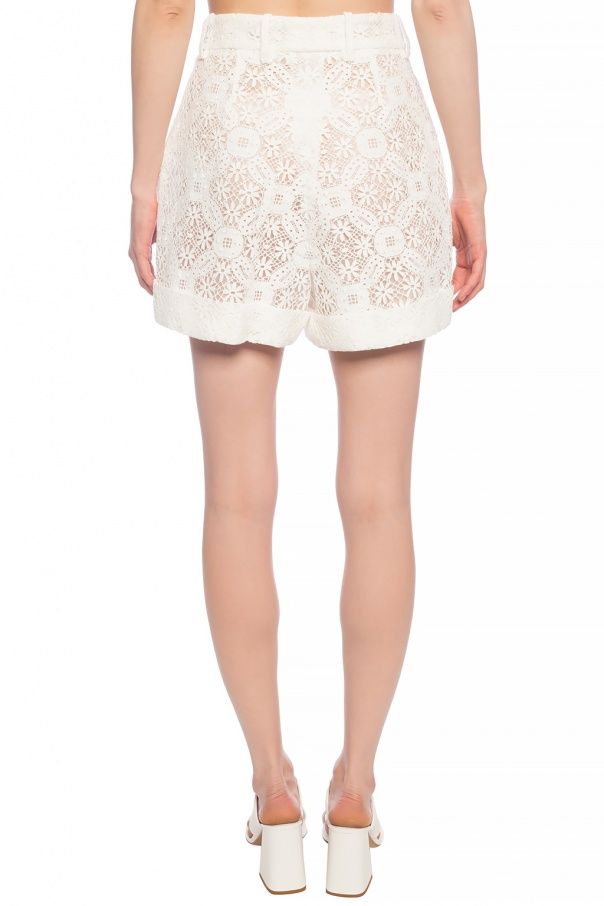 Lace shorts od Alexander McQueen