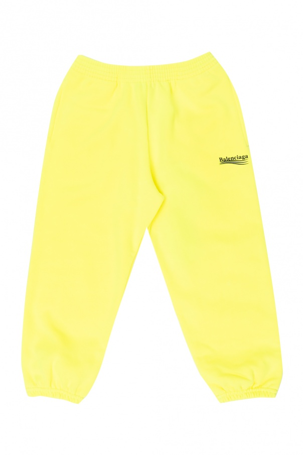 Balenciaga Kids Logo sweatpants