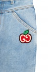 Gucci Kids Distressed trousers