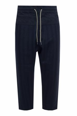 Dropped crotch trousers od Vivienne Westwood