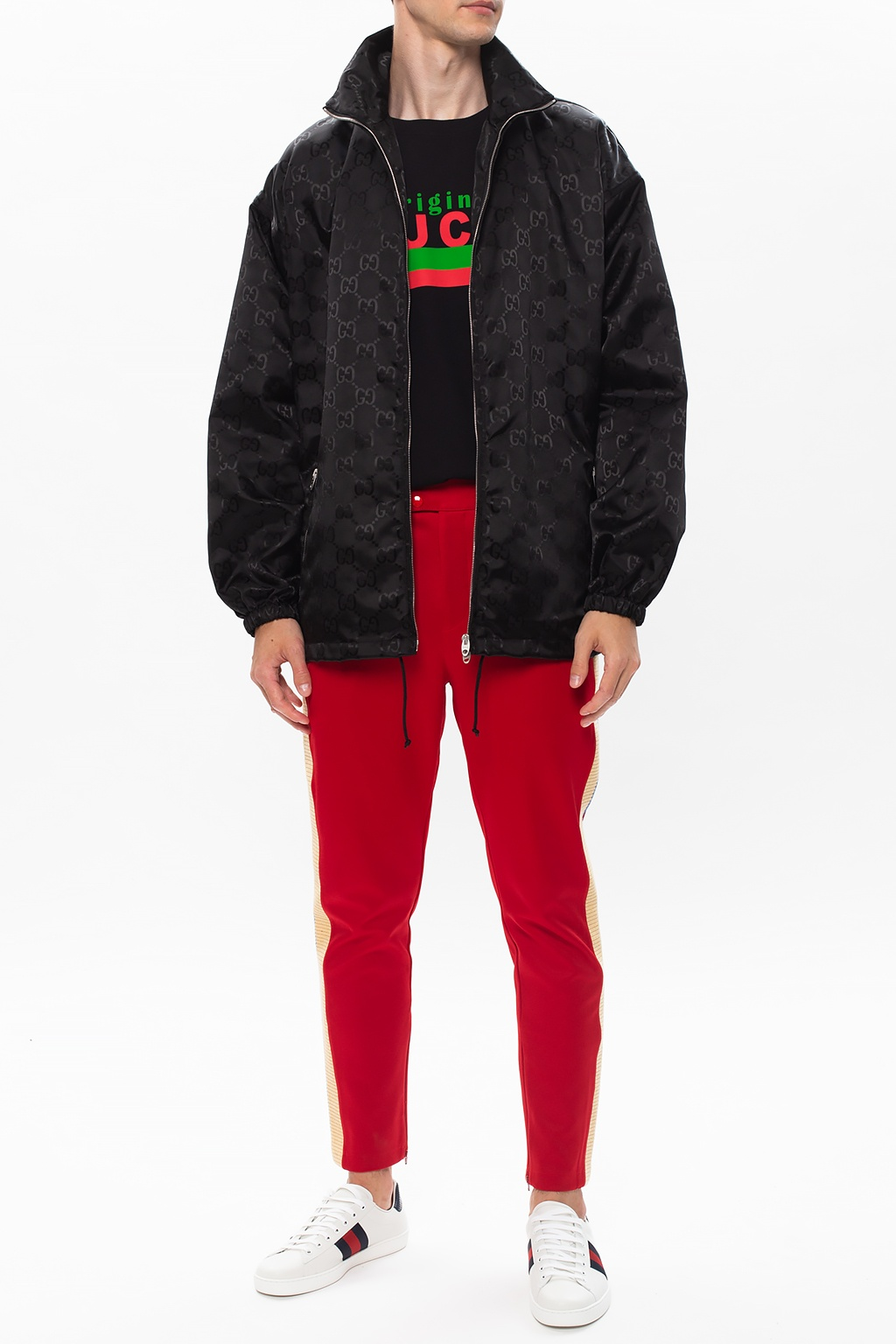Gucci Logo trousers