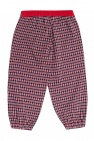 Gucci Kids Logo-embroidered trousers
