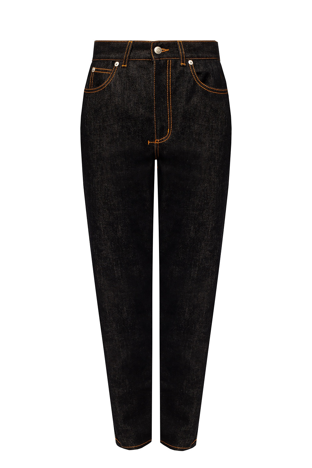 Alexander McQueen Logo-patched jeans