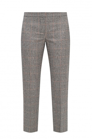 Patterned trousers od Alexander McQueen