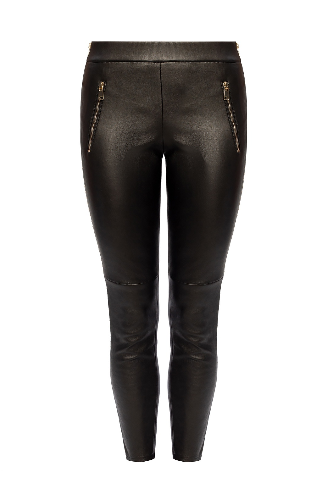 Alexander McQueen Leather trousers