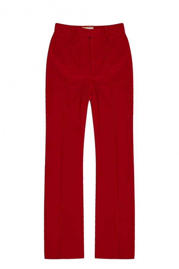 Saint Laurent Wide leg trousers