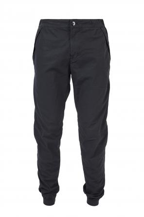 Elasticated cuffs trousers od Stone Island