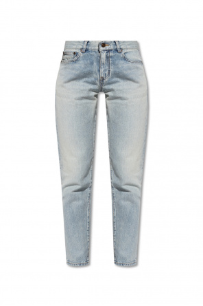 Jeans with tapered legs od Saint Laurent