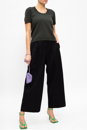 High-waisted trousers od Bottega Veneta