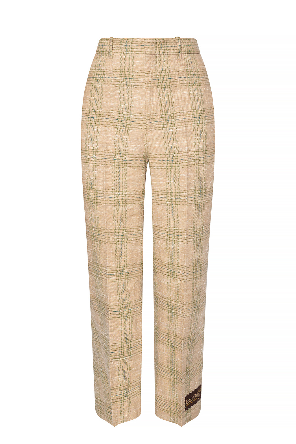 Gucci Pleat-front trousers