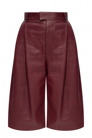 Leather trousers od Bottega Veneta