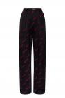Balenciaga Logo-embroidered trousers