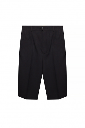 Pleat-front shorts od Saint Laurent