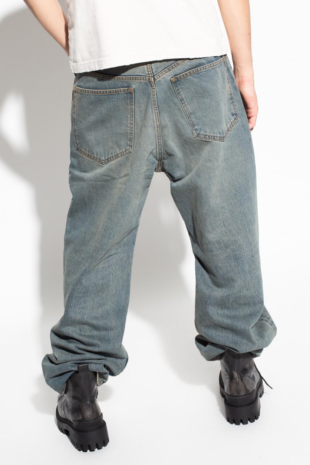 Balenciaga Jeans with logo