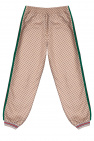 Gucci Kids Trousers with side stripes