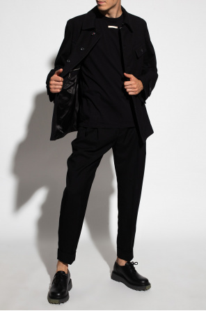 Pleat-front trousers od Alexander McQueen
