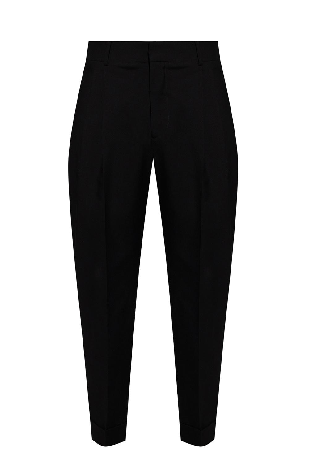 Alexander McQueen Pleat-front trousers