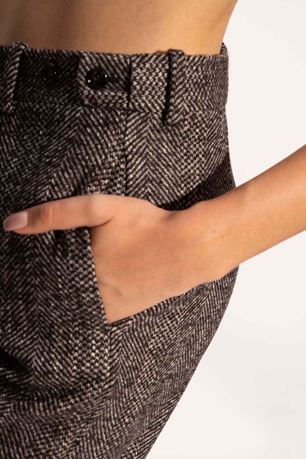 Bottega Veneta 羊毛质长裤