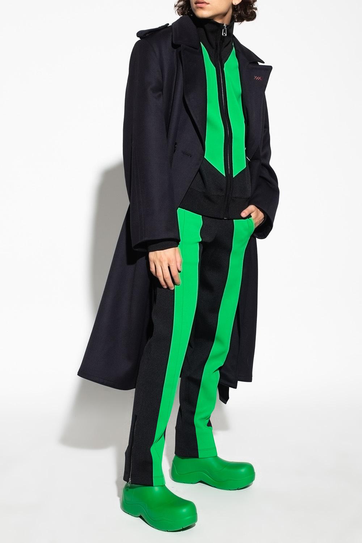 Bottega Veneta Side-stripe trousers