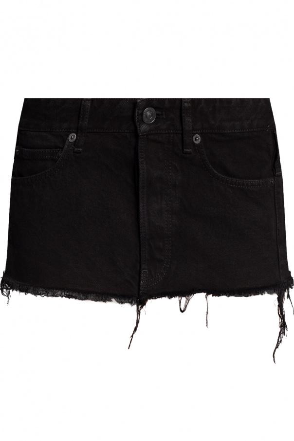 Balenciaga Denim waist belt